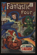 Fantastic Four #65 Fine- 5.5 OW Pgs 1st Ronan The Accuser Marvel Comics