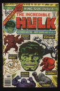 Incredible Hulk Annual #5 1976 VG/Fine 5.0 OW Pgs Early Groot