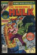 Incredible Hulk Annual #6 1977 VF- 7.5 OW Pgs 1st Ayesha
