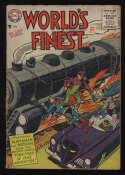 World's Finest Comics #80 Good/VG 3.0 OW Pgs Superman Batman DC Comics