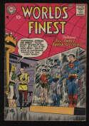 World's Finest Comics #91 Good/VG 3.0 OW Pgs Superman Batman DC Comics
