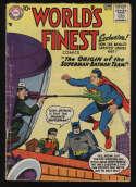 World's Finest Comics #94 Good/VG 3.0 OW Pgs Superman Batman DC Comics