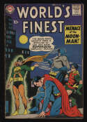 World's Finest Comics #98 VG+ 4.5 OW Pgs Superman Batman MoonMan DC Comics