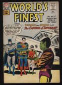 World's Finest Comics #122 Fine- 5.5 CR/OW Pgs Superman Batman DC Comics