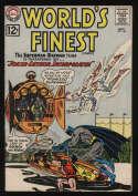 World's Finest Comics #129 VG+ 5.5 OW Pgs Superman Batman Joker Lex Luthor DC Comics