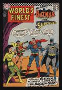 World's Finest Comics #164 Fine/VF 7.0 OW Pgs Superman Batman DC Comics