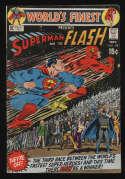 World's Finest Comics #198 VG+ 4.5 OW Pgs Superman Flash Race DC Comics