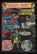 World's Finest Comics #201 VF 8.0 OW Pgs Superman Green Lantern DC Comics