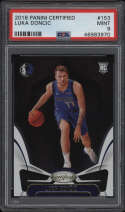 2018 Panini Certified #153 Luka Doncic PSA 9 Mint Rookie Card RC