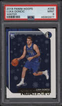 2018 Panini Hoops #268 Luka Doncic PSA 9 Mint Winter Rookie Card RC