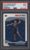 2019 Panini Hoops #258 Zion Williamson PSA 9 Mint Winter Rookie Card RC