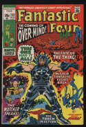 Fantastic Four #113 VG- 3.5 OW Pgs The Watcher Over-Mind Marvel Comics