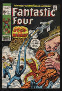 Fantastic Four #114 Fine/VF 7.0 OW/W Pgs FF Marvel Comics