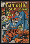 Fantastic Four #115 VG+ 4.5 CR/OW Pgs FF Over-Mind Marvel Comics