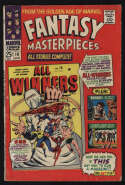 Fantasy Masterpieces #10 VG/Fine 5.0 CR/OW Pgs All Winners 19 Golden Age Marvel Comics