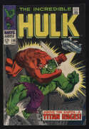 Incredible Hulk #106 VF 8.0 OW Pgs 1st Space Parasite Randau Marvel Comics Silver Age SA