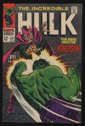 Incredible Hulk #107 NM- 9.2 W Pgs The Mandarin Marvel Comics Silver Age SA