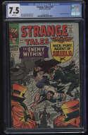 Strange Tales #147 CGC 7.5 W Pgs Nick Fury SHIELD 1st Kaluu Marvel Comics Silver Age SA