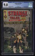 Strange Tales #138 CGC 9.0 OW/W Pgs Nick Fury SHIELD 1st Appearance Eternity Marvel Comics Silver Age SA
