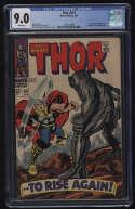 Thor #151 CGC 9.0 W Pgs Destroyer Ulik Inhumans Marvel Comics Silver Age SA