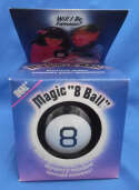 Ideal Magic 8 Ball Eight Used Complete 7099