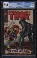 Thor #151 CGC 9.4 OW/W Pgs 4/1968 Marvel Comics Destroyer Ulik Inhumans