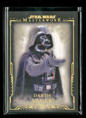 Star Wars Masterworks Darth Vader GOLD Parallel Card Numbered 9/99