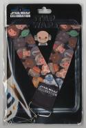 Star Wars Celebration Europe 2016 Emoji Lobot Pin & Lanyard US Seller