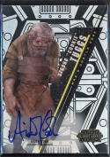Star Wars 2016 High Tek Strono Cookie Tuggs Autographed Card Aiden Cook Form 2