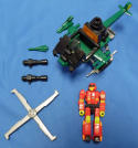 Transformers Generation 1 Action Masters Over Run Loose
