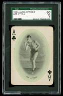 1909 James Jeffries Abe Attell SGC 60 EX Black Sox Scandal Boxing Card HOF