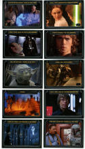 Star Wars Galactic Files Classic Lines Insert Set CL-1-10