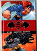 Batman vs Superman Hardcover Trade Paper Back Signed by Dexter Vines