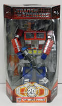Transformers 20th Anniversary Optimus Prime Black Gun MISB Hasbro 2003