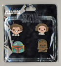 Star Wars Celebration Europe 2016 Emoji Original Trilogy Han, Leia, Fett, Chewie