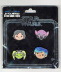 Star Wars Celebration Europe 2016 Emoji Rebels pin set US Seller RARE