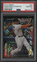 2014 Finest Giancarlo Stanton Xfractor PSA 10 GEM MINT #83 Yankees