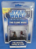 Star Wars Miniatures The Clone Wars Crystal Caves of Ilum Exclusive Luminara