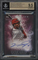 2018 Topps Inception Victor Robles Rookies Magenta BGS 9.5 Auto 10 18/99