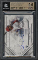2018 Topps Diamond Icons Rookie Autograph Victor Robles BGS 9.5 GM 21/25