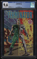 Terminator #1 CGC 9.6 White Pages Dark Horse Comics 8/1990 John Arcudi Movie