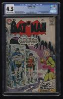 Batman #121 1st Mr. Zero / Freeze CGC 4.5 Cr-OW Pages Key Issue