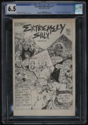 Extremely Silly Comics #1 CGC 6.5 OW-W Pages Antarctic Press 1986 Early TMNT