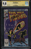 New Mutants #1 CGC 9.8 W Pages SS Signature Sig Series Signed Chris Claremont