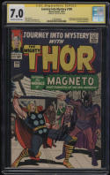 Journey Into Mystery #109 CGC 7.0 OW-W Pages SS Signature Signed Stan Lee