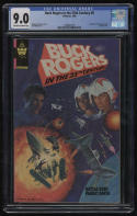 Buck Rogers in the 25th Centurey #8 CGC 9.0 OW-W Pages Whitman Only RARE