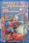 Transformers Jumbo Collectors Case Vintage 1984 Hasbro Tara Toy 75000