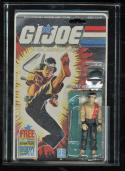 GI Joe AFA 75+ Quick Kick Series 4 36 Back Body Transfer Offer 1986 Hasbro