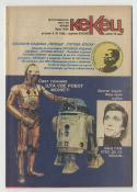 KeKeu 1982 Serbian Magazine with Star Wars Cover R2-D2 C-3PO