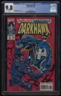 Darkhawk #36 CGC 9.8 White Pages Venom Appearance Danny Fingeroth 1994